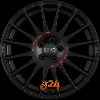 18 zoll oz superturismo gt für volkswagen polo 6r in matt black +