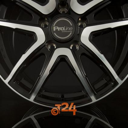 18 zoll proline wheels pxv f r ford galaxy wa6 in black for Ford galaxy brisbane braun metallic