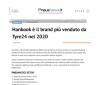Hankook è il brand più venduto da Tyre24 nel 2020